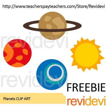 FREE clip art - Planets