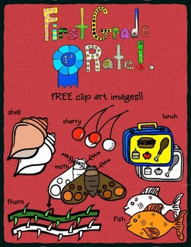 FREE digraph CH, SH and TH CLIP ART!!!