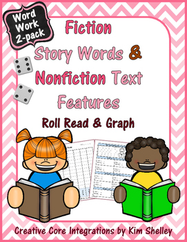 FREEBIE – 2 Roll Read and Graph games - Nonfiction Text Fe