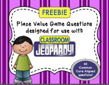 FREEBIE: 4th Grade Place Value Questions for Interactive C