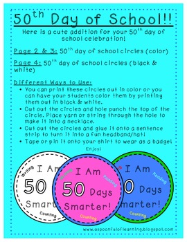 50th Day of School!