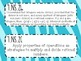 {FREEBIE} 7th Grade Math Common Core *Standards Posters* Z