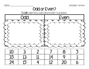 {FREEBIE} All Sorts of Sorts! (Letters/Numbers, Odd/Even)