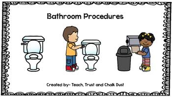 FREEBIE Bathroom Procedures
