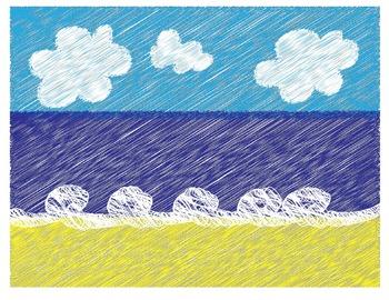 FREEBIE- Beach prepositions