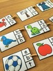 FREEBIE Beginning Sound Peg Game