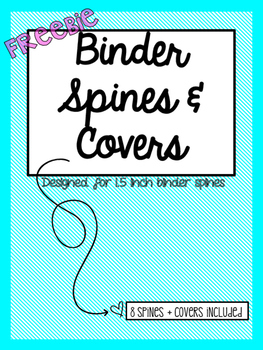 FREEBIE - Binder Spines and Covers