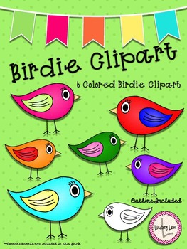 *FREEBIE* Birdie Clipart