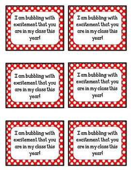 {FREEBIE} Bubbling with Excitement Tags!! Red and White