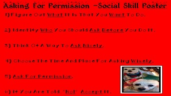 CHRISTMAS EDITION Asking For Permission Social Skill NO PP