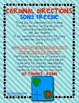 FREEBIE!!! Cardinal Directions Song {Social Studies} for Y