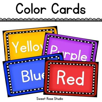 FREEBIE - Color Cards