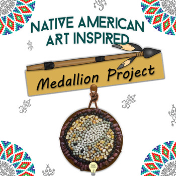 """DOC A """"medallion"""" inspired by the symbols of Native Americ"""