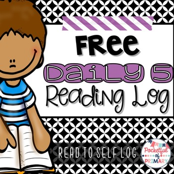 FREEBIE - Daily 5 Reading Log