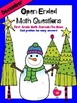 FREEBIE! December Open-Ended Math Question for Journals or