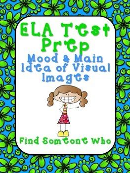 FREEBIE! ELA Test Prep - Find Someone Who - Visual Images