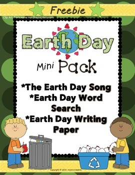 *FREEBIE* ~ Earth Day Mini Pack ~ poem/song included!