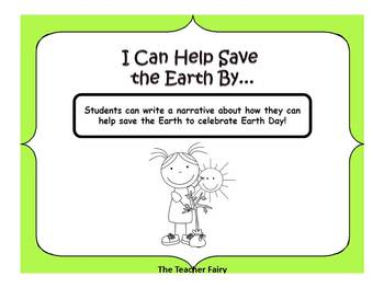FREEBIE Earth Day Writing