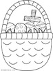 FREEBIE Easter Basket Coloring Pages