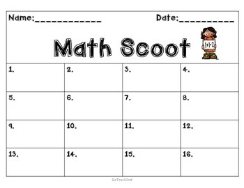 FREEBIE- Engage NY -SCOOT answer sheet to go with my Engag