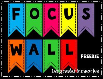 FREEBIE...FOCAL WALL Banner & Headers