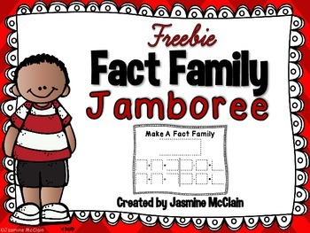 FREEBIE Fact Family Jamboree