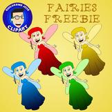 Fairies Freebie Clipart