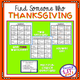 FREEBIE! Thanksgiving Trivia - Find Someone Who