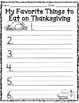 "Thanksgiving Writing Templates ""Giving Thanks!"" FREEBIE!"