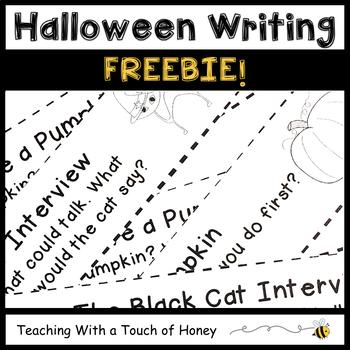 FREEBIE! Hallowe'en Journal Prompts