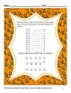 FREEBIE Halloween Math for 3rd Grade