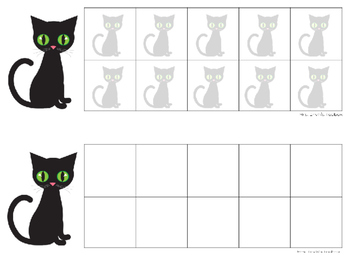 FREEBIE: Kitty Ten Frames