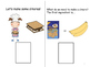 "FREEBIE!!  ""Let's Make S'mores!"" Adapted Book  Sequencing"