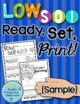 FREEBIE Low Sol  {Ready Set Print Sample}