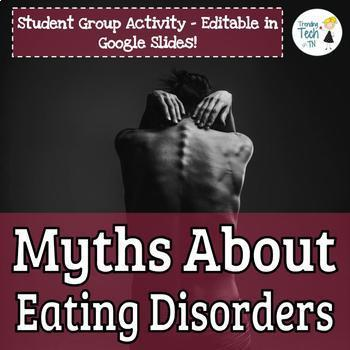 FREEBIE-MYTHS about eating disorders activity