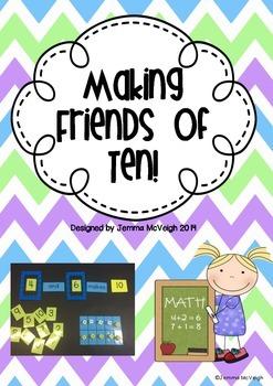 FREEBIE- Making Ten ~ Miss Mac Attack ~