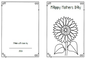 FREEBIE- Mothers Day Card