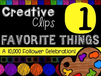 FREEBIE! My Favorite Things #1 {Creative Clips Digital Clipart}