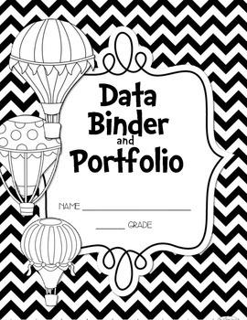 FREEBIE Oh, the Places You'll Go! Data Binder/Portfolio St