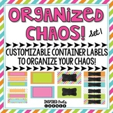Editable Container Labels {Set 1}