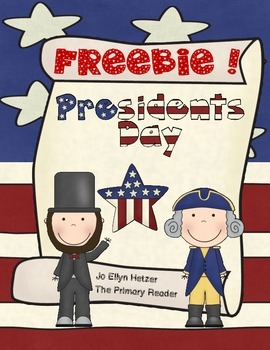 FREEBIE! for PRESIDENT'S DAY!