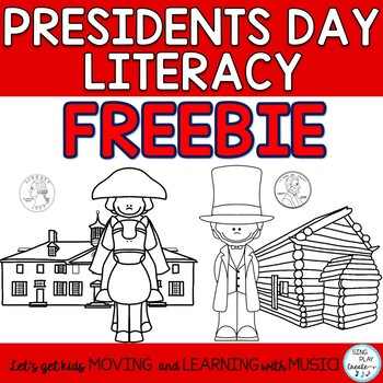 Freebie: Presidents Day  Learn the Facts and Coins Colorin