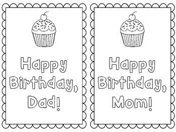 FREEBIE: Parent Birthday Cards