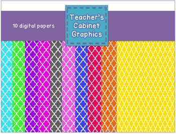 FREEBIE Pattern Papers 1 {Teacher's Cabinet Graphics}