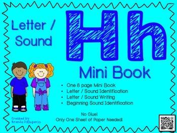 FREEBIE Phonics / Letter H Mini Book Craft