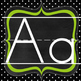FREEBIE! Polka Dot Alphabet Line