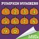 FREEBIE: Pumpkin Numbers Clipart