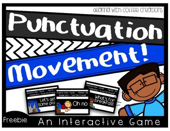 FREEBIE! Punctuation Movement Interactive Game!