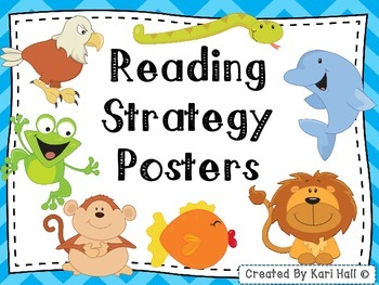 FREEBIE! Reading Strategy Posters (Decoding Posters) and B