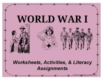 FREEBIE SAMPLE - Causes of WWI